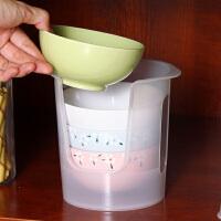 欧润哲 不锈钢创意双层S型沥水碗碟架 厨房碗碟盘筷子餐具收纳架