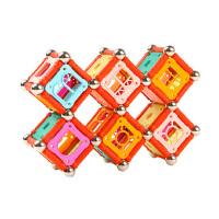 磁力棒玩具420件礼品女男孩吸铁石礼盒装