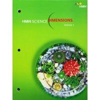 英文原版 美国科学教科书 HMH Science Dimensions:Grade 5(上下两册)科学教育原来应该这么
