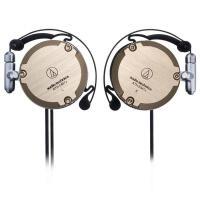 铁三角 (audio-technica) ATH-EM7X 复刻版耳挂式耳机 运动挂耳式 香槟金