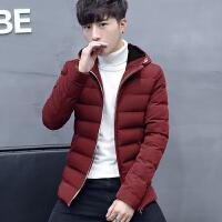 冬季韩版潮流保暖棉服男休闲连帽加厚外套棉衣时尚帅气百搭棉袄