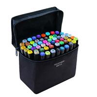 马克笔套装正品Touch three三代30色-80色学生彩色绘画酒精油性笔