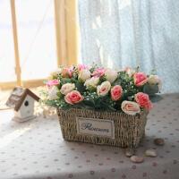 餐桌花艺摆设仿真花套装田园家装饰品摆件客厅摆设装饰花假花绢花