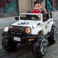 电动车四轮玩具遥控汽车可坐人大人宝宝四驱越野车双人