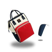 时尚妈咪包多功能大容量双肩包女宝妈包外出母婴包手提包妈妈背包
