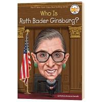 谁是鲁斯巴德金斯伯格 大法官 Who Is Ruth Bader Ginsburg 英文原版人物传记 RBG 中小学生读