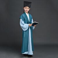 儿童古装汉服童装国学服男孩女孩三字经表演服演出舞蹈服
