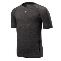 紧身衣男速干短袖健身服男高弹运动上衣篮球跑步吸汗运动t恤
