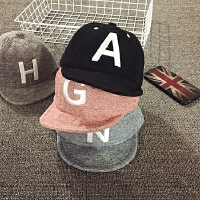 儿童鸭舌帽春秋宝宝帽子1-2岁棒球帽男童韩版女孩潮遮阳帽婴儿帽