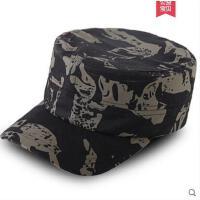 户外迷彩帽鸭舌帽男女平顶帽 遮阳透气 特种兵战术帽军训帽