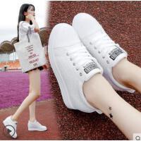 新款百搭韩版白鞋子内增高小白鞋女厚底街拍板鞋休闲鞋