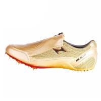 HEALTH/飞人海尔斯160土豪金田径钉子鞋 训练鞋 短跑专业比赛钉鞋