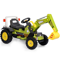 大号男孩电动挖土机2-3-6岁儿童挖掘机玩具可坐可骑工程车