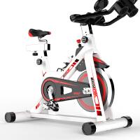 动感单车家用款静音室内运动健身车 1_加大IPDA支架 铝合金皮带盘