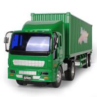 儿童玩具车男孩宝宝惯性小汽车工程车模型大号集装箱大货车卡车