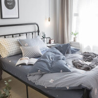 床单三件套学生宿舍单人0.9m 寝室被套枕套1.2米床上用品女生