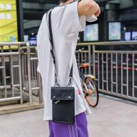 原创潮牌单肩包男背包斜挎小包个性街头嘻哈包女手机包蹦迪包