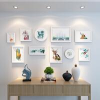 照片墙装饰品欧式相框墙客厅餐厅相片墙 创意组合挂墙画框