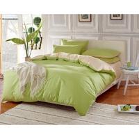 纯色素色被套床单床笠床上用品学生宿舍三四件套