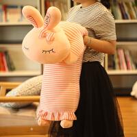 公仔布娃娃女孩生日礼物女生兔子毛绒玩具长抱枕睡觉垂耳兔玩偶