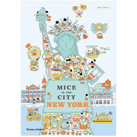 【T&H】Mice in the City: New York,城市里的小鼠: 纽约 儿童绘本