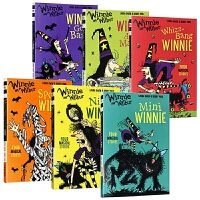 女巫温妮系列小说6册套装 Winnie and Wilbur 英文原版 温妮女巫魔法故事 Winnie the Witc