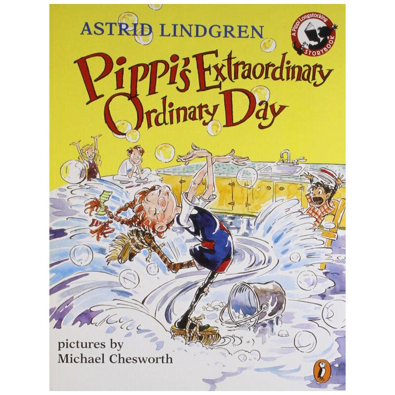 Pippi's Extraordinary Ordinary Day (Picture Book)皮皮不平凡的一天ISBN9780140568417