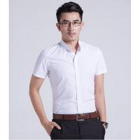 黑色立领衬衫男士圆领中山领衬衣正装纯色工装青年韩版