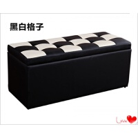 服装店长方形沙发换鞋凳床尾多功能储物收纳凳更衣室试衣间凳子皮