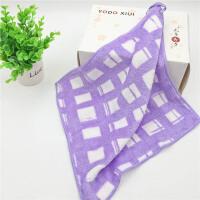 日本印花美容巾吸水柔软小毛巾大方巾手帕婴儿吸汗毛巾擦手巾