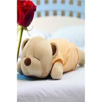 靠垫枕公仔生日礼物送女生趴趴熊抱枕枕头音乐毛绒玩具