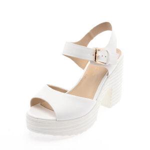 Daphne/达芙妮专柜正品防水台高跟凉鞋 夏季粗跟厚底休闲女鞋
