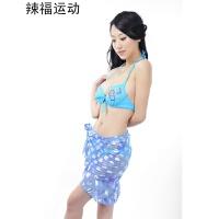 比基尼时尚平角分体泳衣女士泳装大胸MM游泳衣遮肚保守YY-01