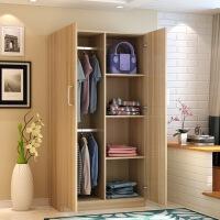【1件3折 领券】环保简易儿童木质板式衣柜 简约衣柜收纳柜储物柜