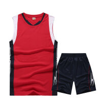 无袖排球服套装男女同款比赛服训练服队服订购印字号
