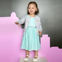 歌瑞家儿童裙子女童连衣裙2017新款春装女宝宝裙子童装公主裙乐友