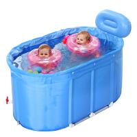 小孩儿童合金支架超大号双胞胎宝宝游泳桶婴儿游泳池家用保温