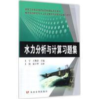 水力分析与计算习题集 王宇,王勤香 主编