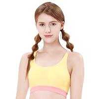 少女文胸学生初中育期无钢圈运动小背心式高中生青春期内衣