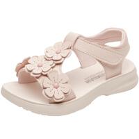 女童凉鞋儿童公主鞋宝宝沙滩鞋女孩软底童鞋中大童