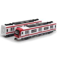 和谐号动车组合金儿童玩具车高铁火车头亮灯回力仿真模型