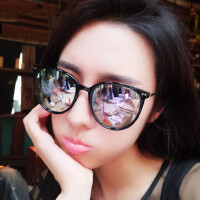 偏光女太阳眼镜潮流墨镜修脸个性镜圆脸长脸镜彩膜