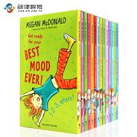 Judy Moody稀奇古怪小朱迪14册英文原版儿童读物英文初级章节书健康正能量小学生阅读提升课外书少儿英语启蒙畅销文学