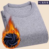 【保暖套装】真超柔冬季套装加绒加厚保暖内衣男士保暖打底衫