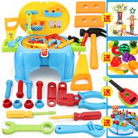 工具箱玩具套装螺丝刀维修理工具台五四岁男孩玩具宝宝过家家
