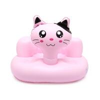 宝宝学坐椅婴幼儿充气沙发多功能便捷式就餐椅洗澡浴凳