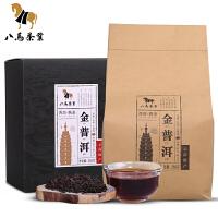 八马茶叶 云南金普洱茶叶 熟普袋装黑茶  250g
