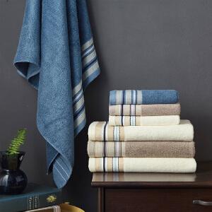 竹纤维成人浴巾毛巾套装 宝宝超强吸水男女大号毛巾柔软婴儿童套装