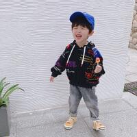 男童卫衣春季儿童中小童时尚韩版宽松春秋款宝宝外套