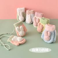 婴儿手套冬季保暖 宝宝冬天1-2-3-4岁 儿童男女童 小孩婴幼儿秋冬
